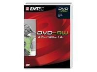 Emtec DVD-RW 4,7GB 4X VB 5P