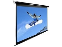 Elite Screens Entry Electric Screen White