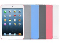 LUXA2 Sandstone iPad mini case/White