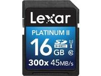 Lexar 16GB SDHC 300X PREMIUM II C10