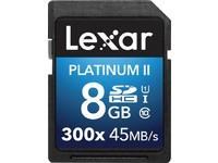 Lexar 8GB SDHC 300X PREMIUM II C10