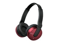 Sony Bluetooth Headphones, Red
