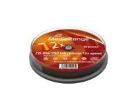 MediaRange 2x Speed 80min CD-RW (10 TUB)
