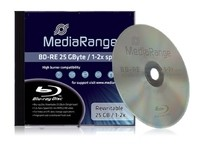 MediaRange 25GB  1pcs BD-RE Je