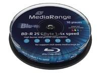 MediaRange 25GB 10pcs BD-R Spi