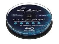 MediaRange BD-R 25GB 6x, 10-pack