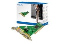 LogiLink PCI 6-Kanal with Dolby 5.1 u.