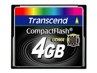 Transcend Compact Flash4GB SLC