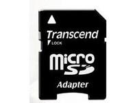 Transcend MicroSD Card SDHC 4GB + Adapte