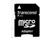 Transcend MicroSD Card SDHC 8GB + Adapte