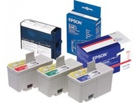 Epson ink cartridges, blue