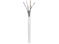 MicroConnect S/FTP CAT6  100m White, PVC