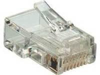 MicroConnect RJ11 modular 6P-4C Plug