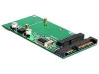 Delock SATA 22p/USB > mSATA Full size