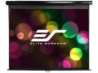 "Elite Screens 136"" projection screen"