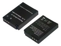 MicroBattery Li-ion 3.7V 980mAh Black