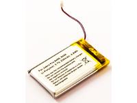 MicroBattery Li-Polymer, 3.7V, 230mAh 0.8Wh