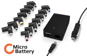 MicroBattery 90W Universal Car Adapter