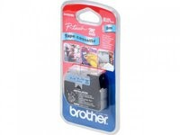 Brother Tape Black on Blue 9mm