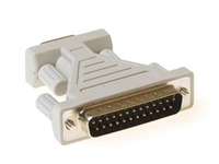 MicroConnect Gender changer DB9 to DB25 M/F