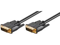 MicroConnect DVI-I (DL) 24+5PIN 10m M-M