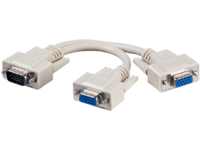 MicroConnect VGA Y-splitter 1 to 2, passive