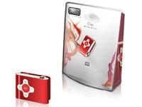 Sweex Clipz MP3 Player Red 4 GB