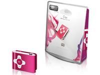 Sweex Clipz MP3 Player Pink 4 GB