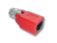 MicroConnect Adapter RJ45 Crossed M/F