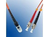 MicroConnect MTRJ/UPC-ST/UPC 1m 62,5/125