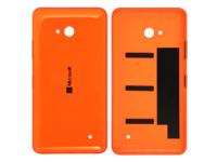 MicroSpareparts Mobile Back Cover Orange Color