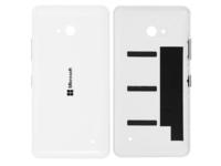 MicroSpareparts Mobile Back Cover White Color