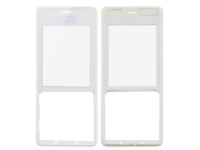 MicroSpareparts Mobile Front Cover White