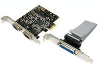 LogiLink seriell PCIe 2x+1x parallel