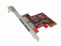 Lycom eSATA 6Gbps External 2Ports,LP