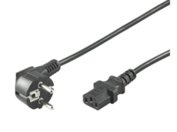 MicroConnect Power Cord 0,5m Black IEC320