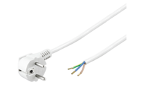 MicroConnect Power Cord 2m Schuko/Open
