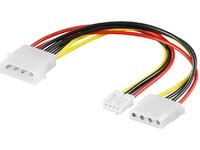 MicroConnect PC Y-Power supply cable 0,13m