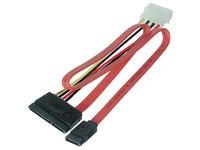 MicroConnect SATA Power 15+7pin-4+7pin