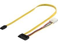 MicroConnect SATA 2-in-1 data signal +