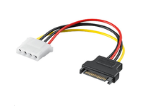 MicroConnect SATA 15 Male - 4pin female
