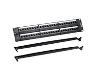 """MicroConnect 19\"""" Blank patch panel, 48port,"""