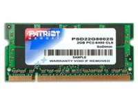 Patriot Memory DDR2 2GB CL5 (800MHz)SODIMM