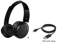 Panasonic BTD5 On-ear, Black