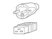 Fujitsu Powercable 16A IEC320