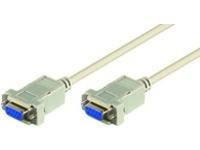 MicroConnect DB9-DB9 1,8m F/F
