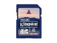 Kingston 16GB SDHC Class 4 Flash Card