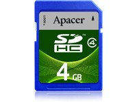 Apacer SDHC Class4 4GB