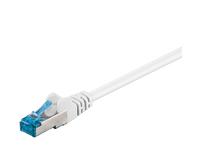 MicroConnect S/FTP CAT6A 0.25M WHITE LSZH