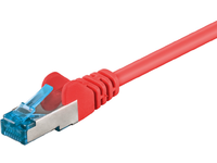 MicroConnect S/FTP CAT6A 1,5M Red LSZH